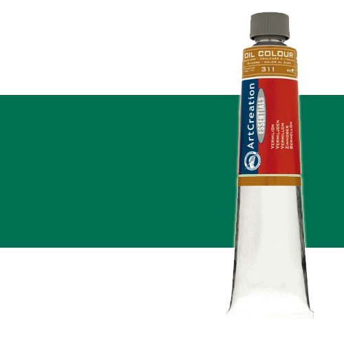 Óleo ArtCreation color Verde esmeralda (200 ml)