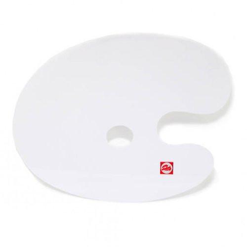 Paleta ovalada de plastico lisa Talens (25x35 cm)