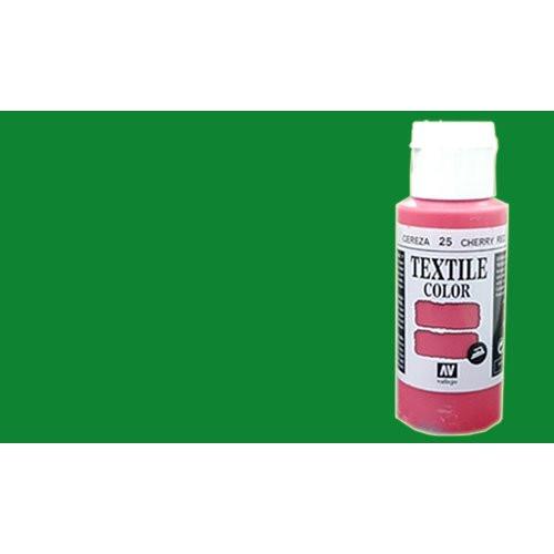 Pintura Textil Vallejo Verde n. 53, 60 ml.
