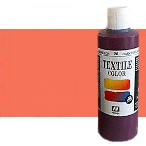Pintura Textil Vallejo Rosa Metal n. 527, 200 ml.