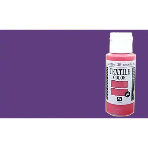 Pintura Textil Vallejo Violeta Metal n. 536, 60 ml.