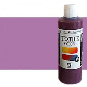 Pintura Textil Vallejo Lila Metal n. 537, 200 ml.