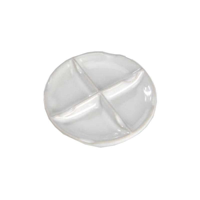 Paleta redonda de porcelana 8,9 cm