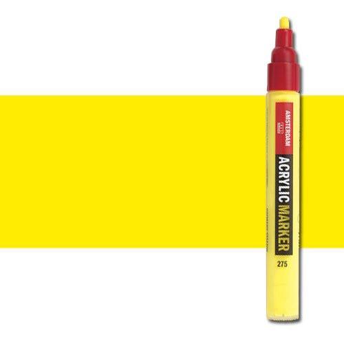 Rotulador acrilico Amsterdam color amarillo primario 275 (4 mm.) M