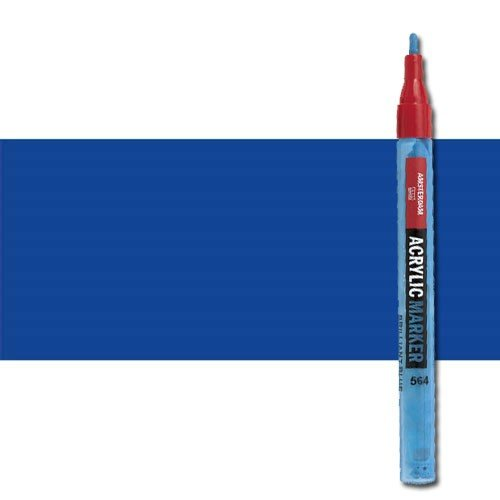 Rotulador acrilico Amsterdam color Azul Ultramar 504 (2 mm.) S