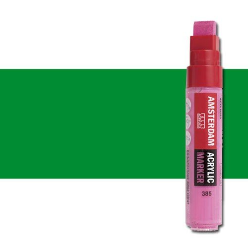 Rotulador acrilico Amsterdam color Verde Permanente Claro 618 (15mm.) L
