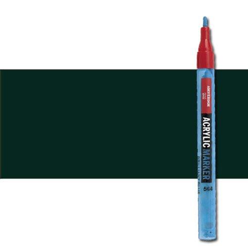 Rotulador acrilico Amsterdam color Negro Oxido 735 (2 mm.) S