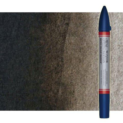 Rotulador de acuarela sepia Winsor & Newton doble punta pincel