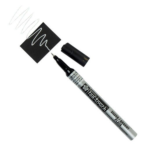 Rotulador Plata Pen-touch extrafino Sakura