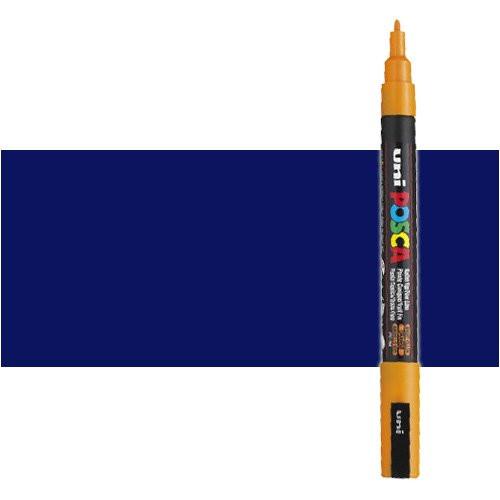 Rotulador Posca Azul (N. 33) PC3M, punta redonda (0.9-1.3 mm.)