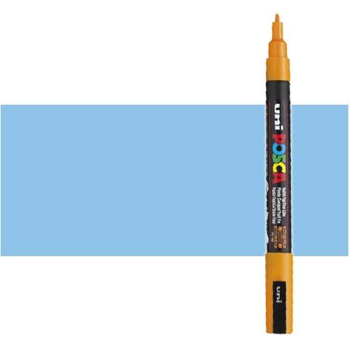 Rotulador Posca Azul cielo (N. 48) PC3M, punta redonda (0.9-1.3 mm.)