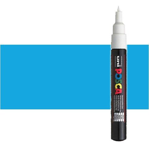 Rotulador Posca Azul claro (N. 8) PC1M, punta redonda (0.7 mm.)