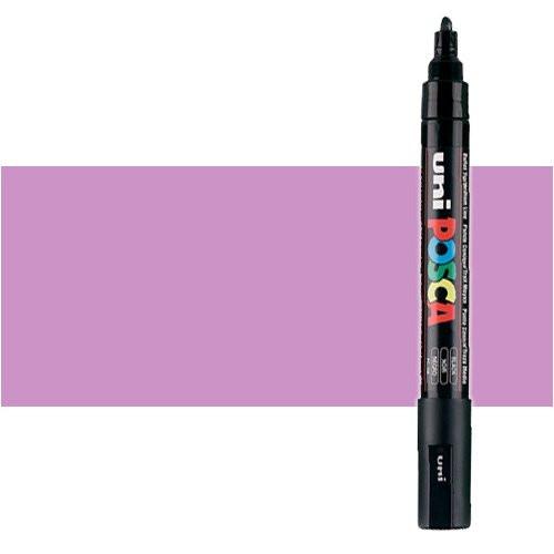 Rotulador Posca Rosa metálico (N. M13) PC5M, punta redonda (1.8-2.5 mm.)