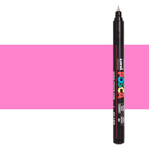 Rotulador Posca Rosa (N. 13) PC1MR, punta extra fina (0.7 mm.)