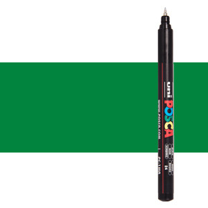 Rotulador Posca Verde (N. 6) PC1MR, punta extra fina (0.7 mm.)