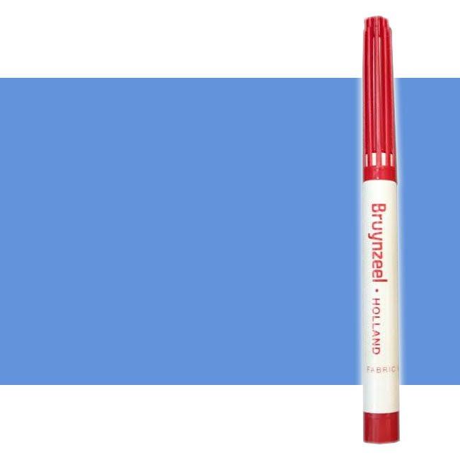 Rotulador Textil Azul Bruynzeel*D*