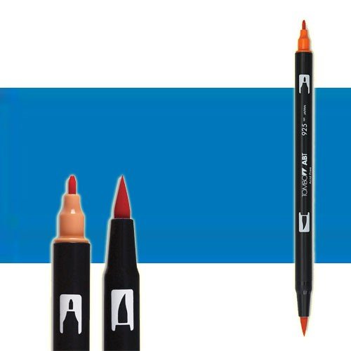 Rotulador Tombow 535 Cobalt Blue doble punta pincel