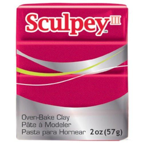 Sculpey III Perla rojo intenso 56 gr.