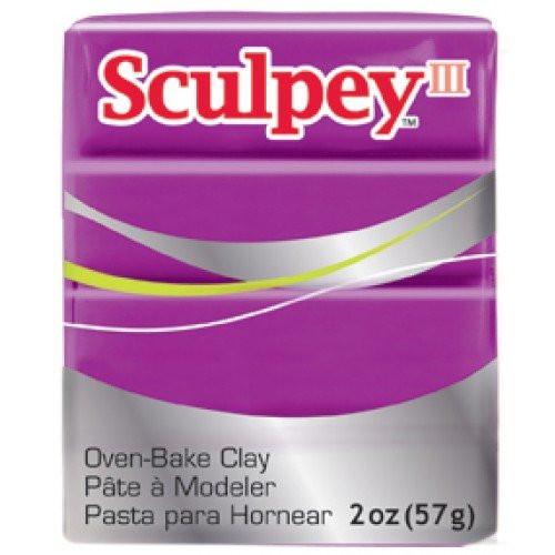 Sculpey III Violeta, 56 gr.