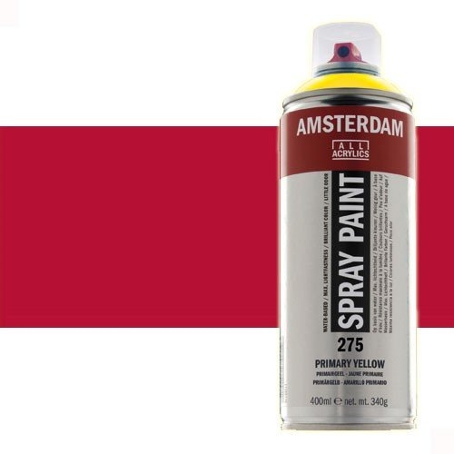 Acrílico en spray Carmín 318 Amsterdam 400 ml.