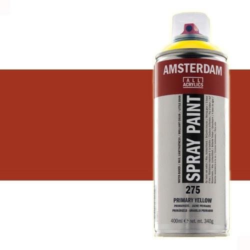Acrílico en spray Siena Tostada 411 Amsterdam 400 ml.