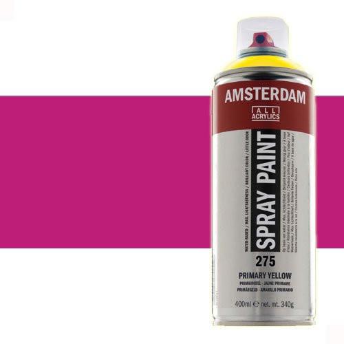 Acrílico en spray Violeta Rojo Permanente Claro 577 Amsterdam 400 ml.
