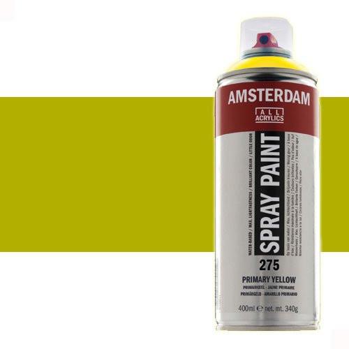 Acrílico en spray Verde Oliva Claro 621 Amsterdam 400 ml.