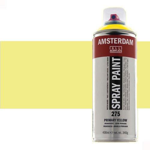 Acrílico en spray Oro Claro 802 Amsterdam 400 ml.