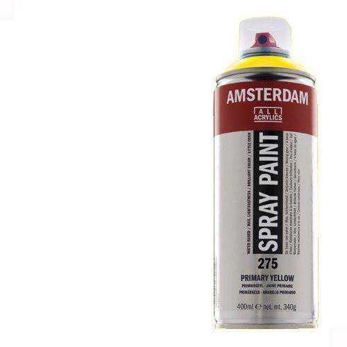 Acrílico en spray Blanco de Titanio 105 Amsterdam 400 ml.