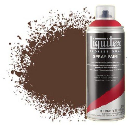 Pintura en Spray Tierra de Siena Tostada 0127, Liquitex acrílico, 400 ml.