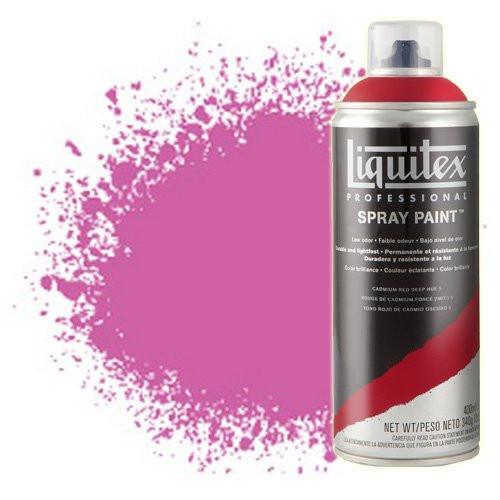 Pintura en Spray Magenta medio 0500, Liquitex acrílico, 400 ml.