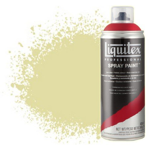 Pintura en Spray Amarillo cadmio claro 6, 6159, Liquitex acrílico, 400 ml. **DESCATALOGADO**