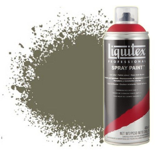 Pintura en Spray tierra de sombra natural 6, 6331, Liquitex acrílico, 400 ml.