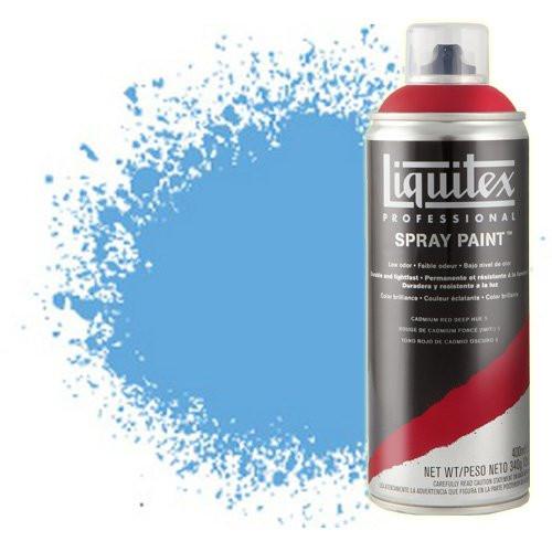 Pintura en Spray azul ftalocianina 7 (tono rojo) 7316, Liquitex acrílico, 400 ml.