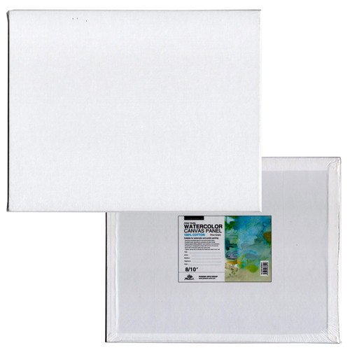 Tablilla entelada para acuarela con preparación universal (30x30 cm)