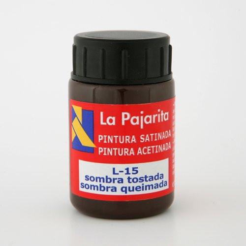 Tempera La Pajarita Sombra Tostada L-15, 35 ml.