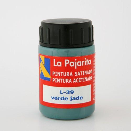 Tempera La Pajarita Verde Jade L-39, 35 ml.
