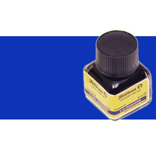 Tinta China Pelikan Azul Ultramar frasco 10 ml