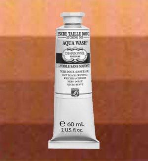 Tinta Aqua wash Charbonnel Tierra de Siena Quemada, 60 ml.