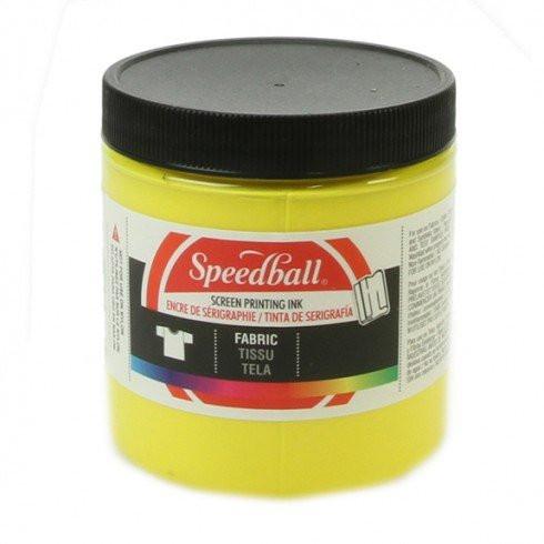 Tinta serigrafia al agua Amarillo 236 ml. Speedball