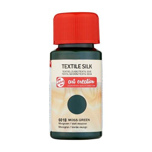 Tinta Textil Seda Verde Musgo 6018, 50 ml. ArtCreation