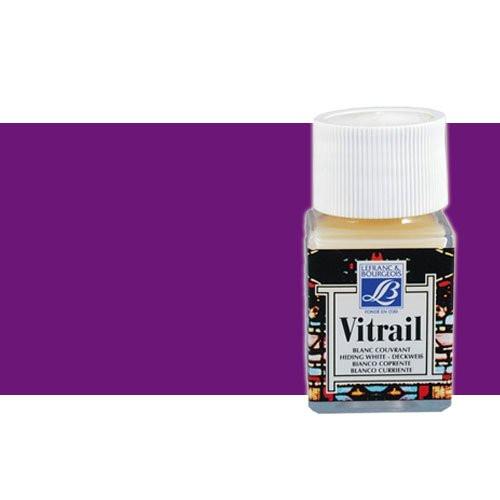 Pintura Cristal Violeta Vitrail Lefranc, 50 ml.-601