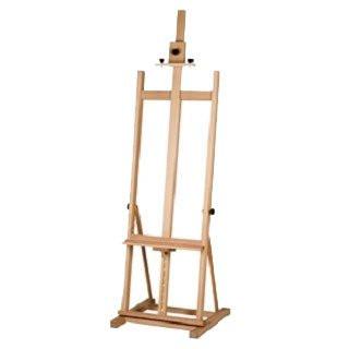 Caballete para pintura Estudio con sistema cremallera Vesta.