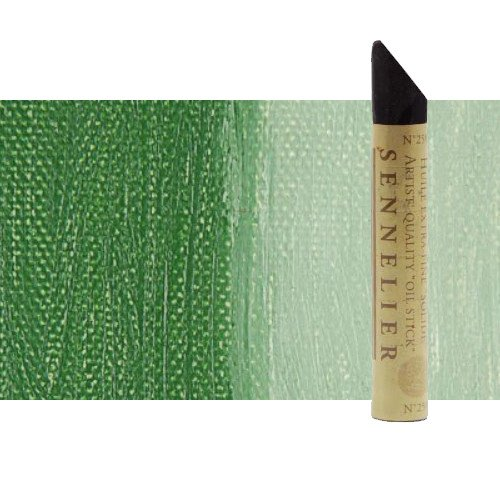 Óleo en barra Sennelier 38 ml. Verde óxido cromo