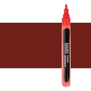 Rotulador Liquitex Paint Marker color tierra siena tostada (2 mm)