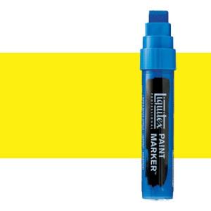Rotulador Liquitex Paint Marker color tono amarillo de cadmio claro (15 mm)