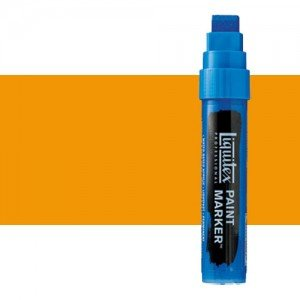 Rotulador Liquitex Paint Marker color tono Amarillo de Cadmio Oscuro (15 mm)