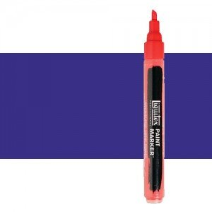 Rotulador Liquitex Paint Marker color púrpura dioxacina (2 mm)