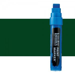 Rotulador Liquitex Paint Marker color tono verde Hooker permanente (15 mm)