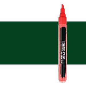 Rotulador Liquitex Paint Marker color tono verde Hooker permanente (2 mm)